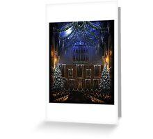 Hogwarts Great Hall - Christmas ver. 2 Greeting Card