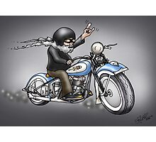 MOTORCYLE HARLEY STYLE  Photographic Print