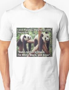 Non-Racist Panda Unisex T-Shirt