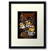 Despicable Rebels Framed Print