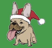 Frenchie Clause Kids Clothes