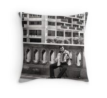 Diary of a Nomad Throw Pillow