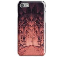 The Walls of Barad Dûr iPhone Case/Skin