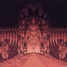 The Walls of Barad Dûr by Curtiss Shaffer
