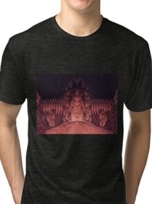 The Walls of Barad Dûr Tri-blend T-Shirt
