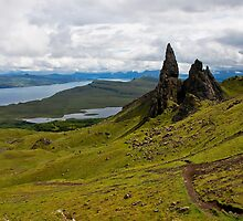 The Old Man Of Storr by Jan Cervinka