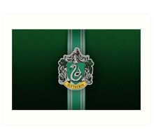 Slytherin Ribbon ver. 1 Art Print