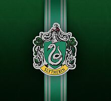 Slytherin Ribbon ver. 1 by Serdd