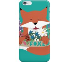 I Love Foxes iPhone Case/Skin