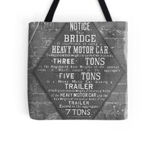 Weight Limit Tote Bag