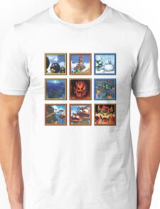 Super Mario 64 Paintings Unisex T-Shirt