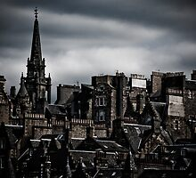 Edinburgh Old Town - Edgy version by Jan Cervinka