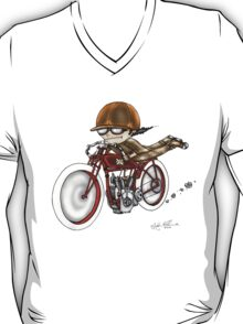MOTORCYCLE EXCELSIOR STYLE (RED BIKE) T-Shirt