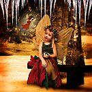 Winter Forest Fairies by Elizabeth Burton