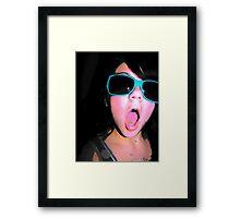 silly Framed Print