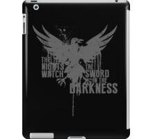 The Night's Watch Shirt iPad Case/Skin