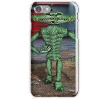 Gator Bone Man iPhone Case/Skin