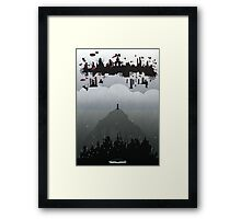 Bioshock Infinite: Rapture & Columbia Framed Print
