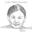 Pencilled portrait 2 by Colin Wells