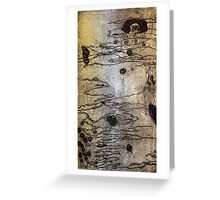 Scribbly Gum Exchange Greeting Card