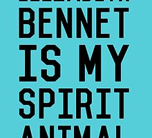 Elizabeth Bennet_Black by kellabell9
