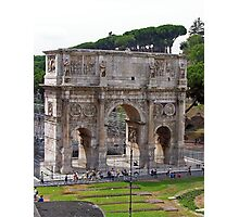 Arch of Constantine Photographic Print