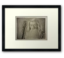 Gandalf the Gray Framed Print