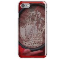 Tall ship needle point  iPhone Case/Skin