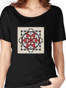 'Na rosa r 'sant' M'chel (The Rose of St Michael) Women's Relaxed Fit T-Shirt