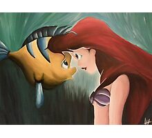 Ariel & Flounder Photographic Print