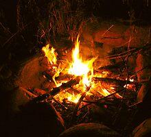 Bonfire by nikspix