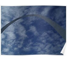 The Arch in st.louis Poster