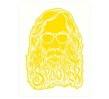 Lysander Spooner Too Cool Art Print