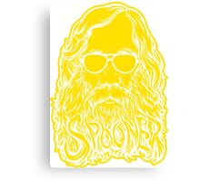 Lysander Spooner Too Cool Canvas Print