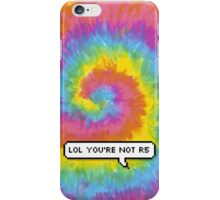 "R5 - ""lol you're not r5"" iPhone Case/Skin"