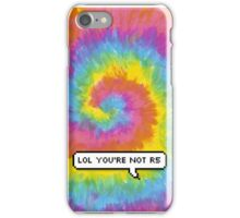"""R5 - """"lol you're not r5"""" iPhone Case/Skin"""