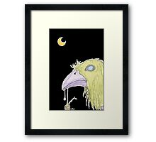 When The Green Crow Brings You Dreams of Shelter Framed Print
