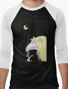 When The Green Crow Brings You Dreams of Shelter Men's Baseball ¾ T-Shirt