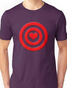 Aim For The Heart Unisex T-Shirt