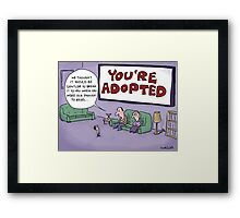There's something you should know... Framed Print
