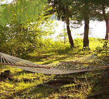 Hammock in the Sunset by carly34