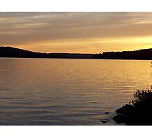 Sunset at Portage 2 Photographic Print