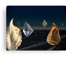 Moonlit Sail Canvas Print