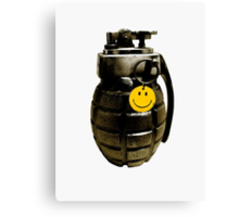 Bad Company Grenade Canvas Print