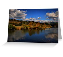 looking back at Autumn Greeting Card