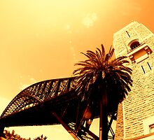 sydney harbour bridge... by Jarrod Lees