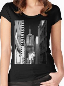 Building Blocks Women's Fitted Scoop T-Shirt