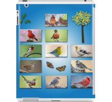 From our flock to yours . . . Merry Christmas! iPad Case/Skin