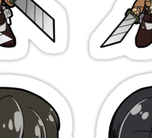 Attack on Titan - Sticker Sheet Collection Sticker