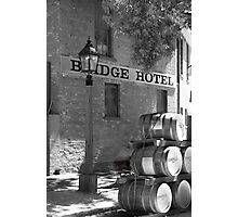Bridge Hotel Photographic Print
